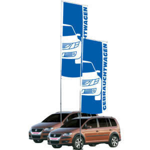 Flaggstång mobil 5,80 med flaggbom