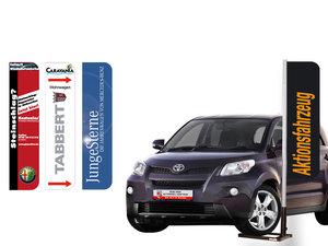 Mobil reklammast