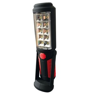 Handlampa 10+1 SMD LEDs